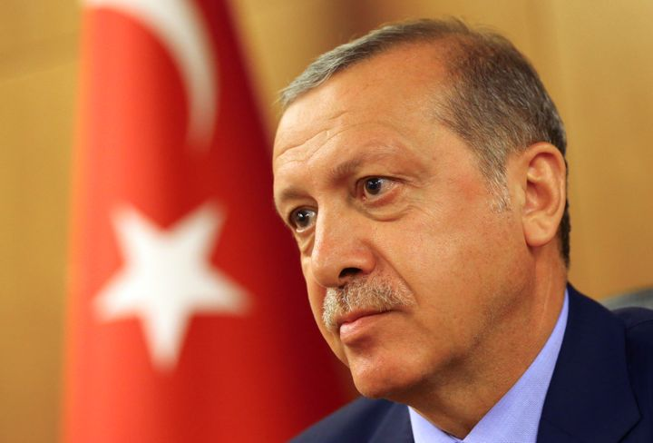 President Erdogan said Monday that he might have died if he had left Marmaris any later.