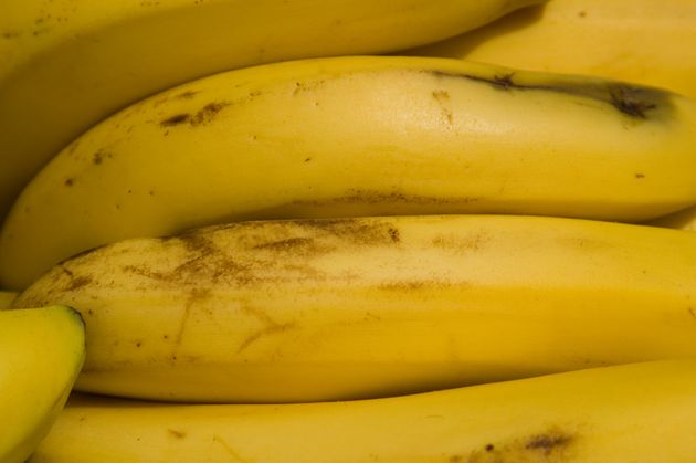 Bananas with black patches are being needlessly
