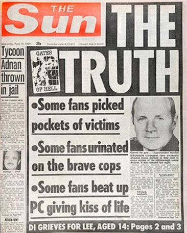 The 1989 front page MacKenzie apologised for years after printing