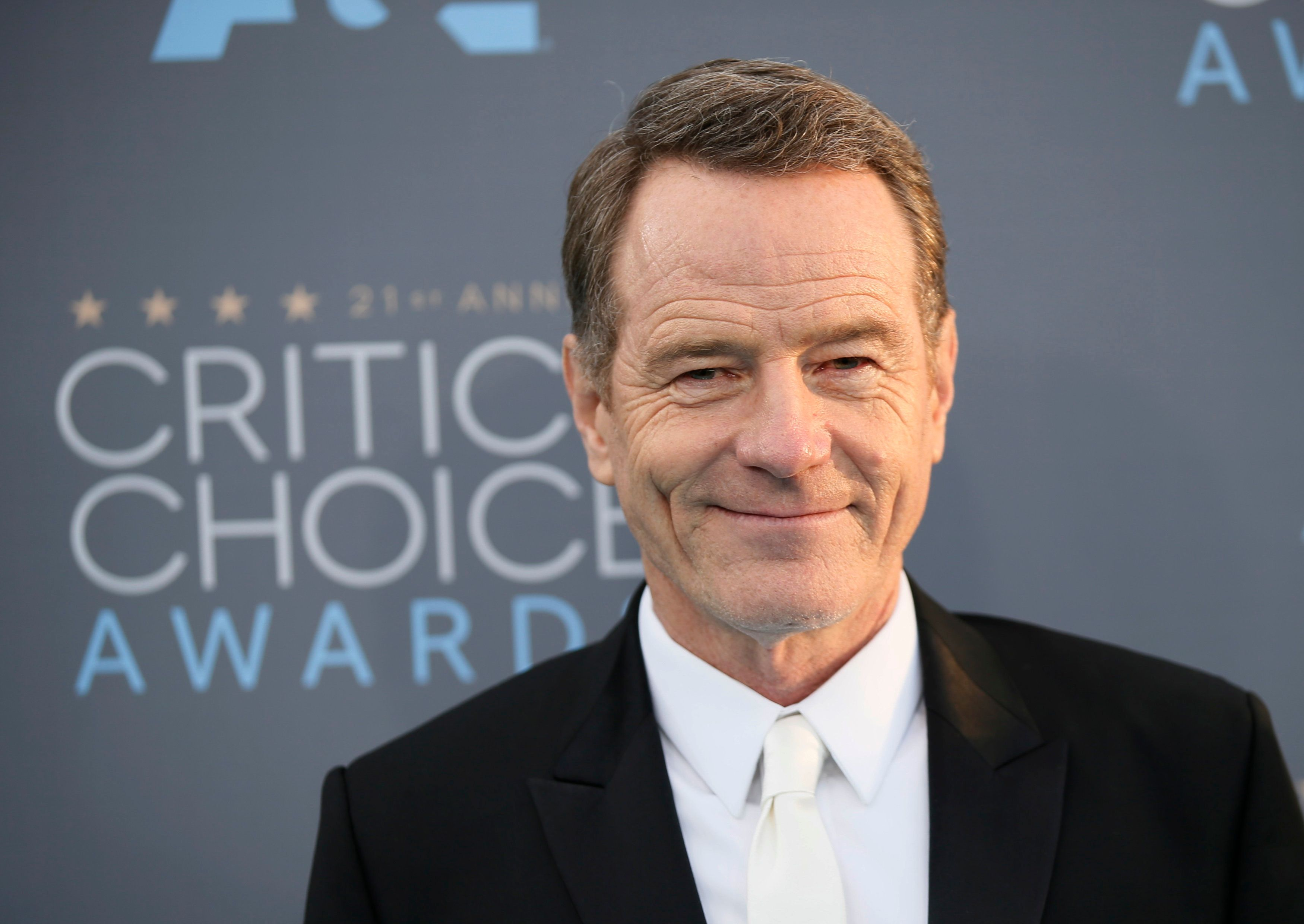 Actor Bryan Cranston arrives at the 21st Annual Critics' Choice Awards in Santa Monica, California January 17, 2016.  REUTERS/Danny Moloshok