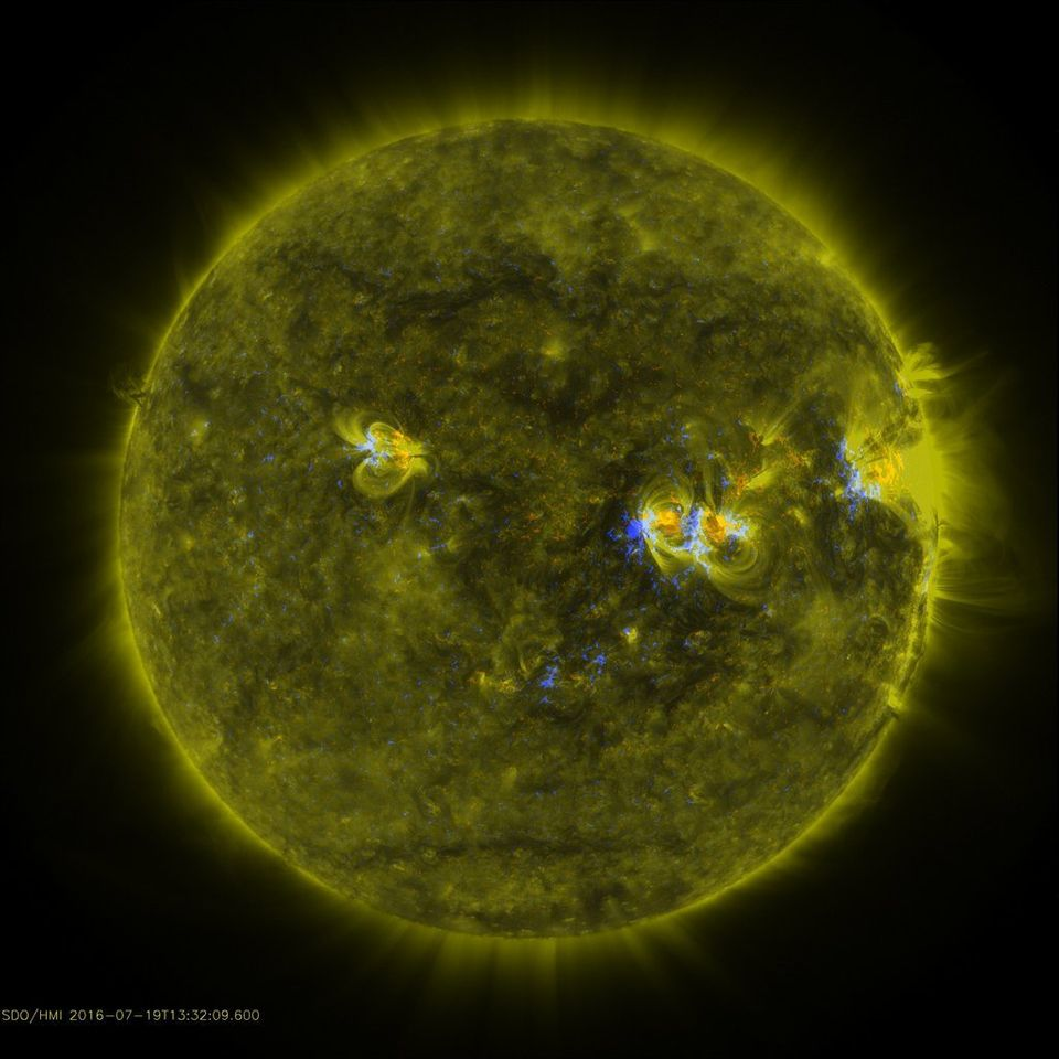 This Massive Earth-Sized Sunspot Looks Pathetically Small On The Surface Of The