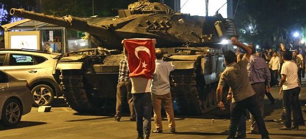 Turkey's Coup Attempt Had Nothing to Do With Restoring Democracy or Human Rights. Sorry?