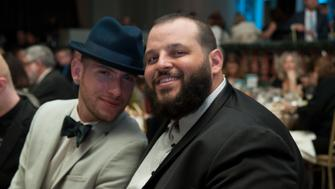 BEVERLY HILLS, CA - JUNE 02:  Joseph Bradley Phillips and Daniel Franzese attend Lambda Legal 2016 West Coast Liberty Awards Gala at the Beverly Wilshire Four Seasons Hotel on June 2, 2016 in Beverly Hills, California.  (Photo by Lilly Lawrence/WireImage)
