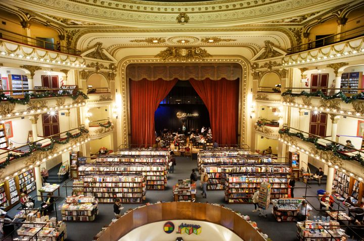 This Grand Theater Turned Bookstore Will Take Your Breath Away