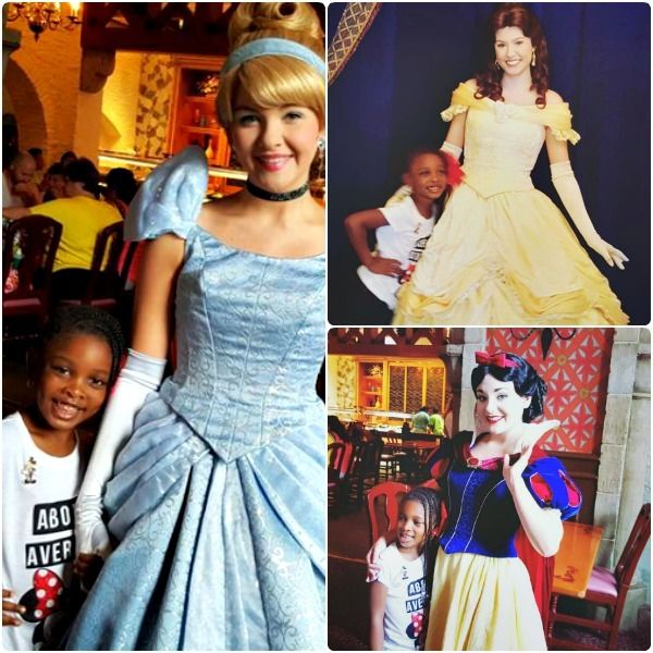 Makayla-Ola met a parade of Disney Princesses while we dined at Akershus Royal Banquet Hall.