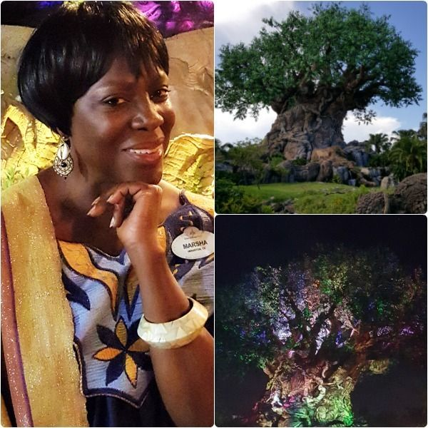 Marsha Jackson Randolph, Show Director, Walt Disney Creative Entertainment and the Tree of Life.