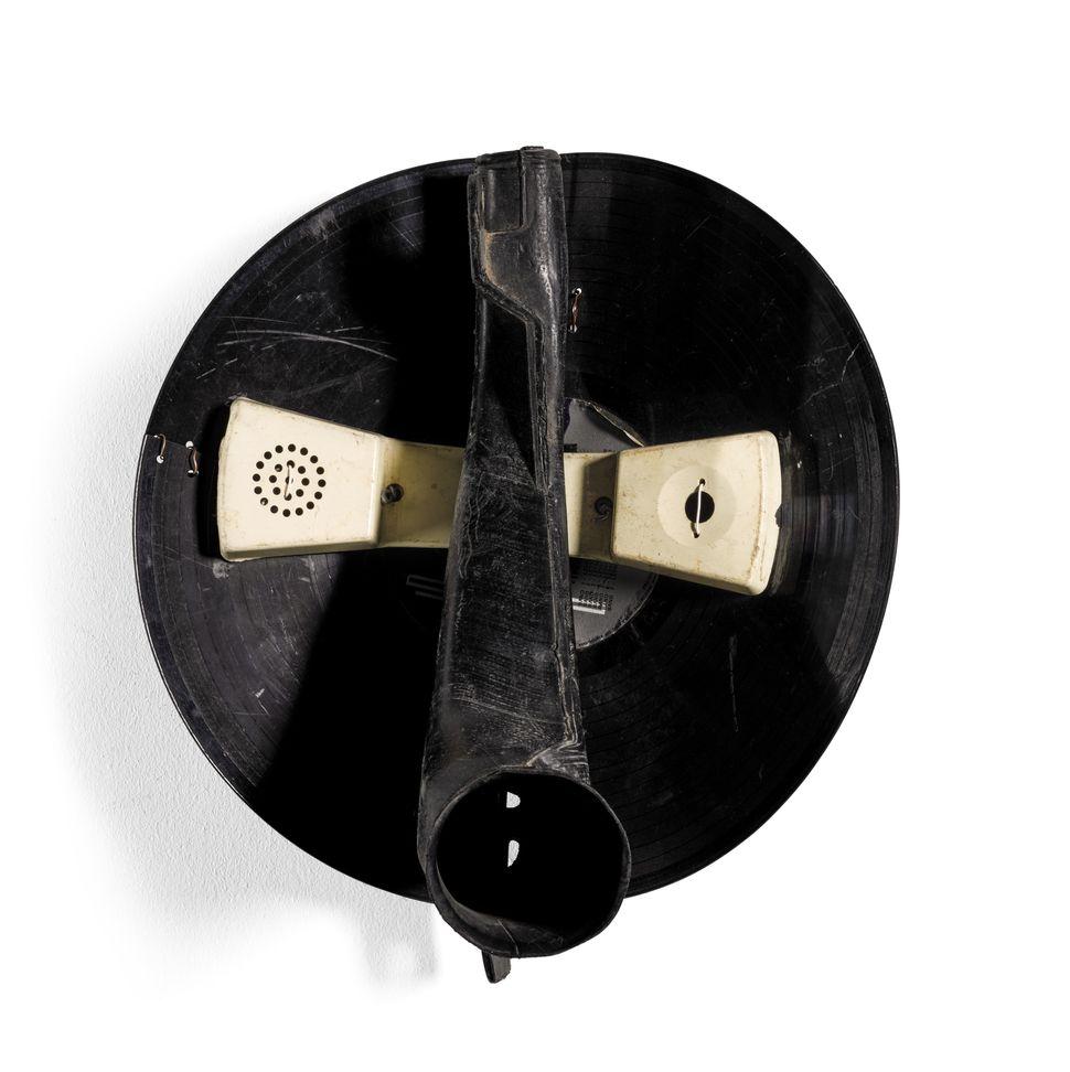"Romuald Hazoume, ""Alexandra,"" 1995, Found objects"