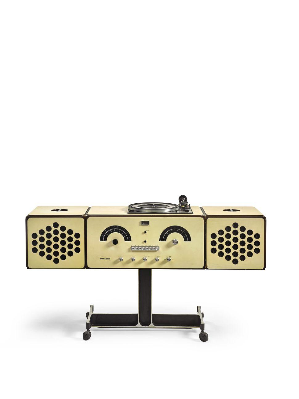 "Pier Giacomo and Achille Castiglioni Brionvega ""Radiophonograph, model no RR 126,"" 1965"