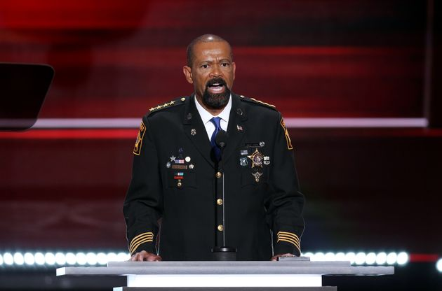 Sheriff to RNC Crowd: Black Lives Matter Is 'Anarchy'