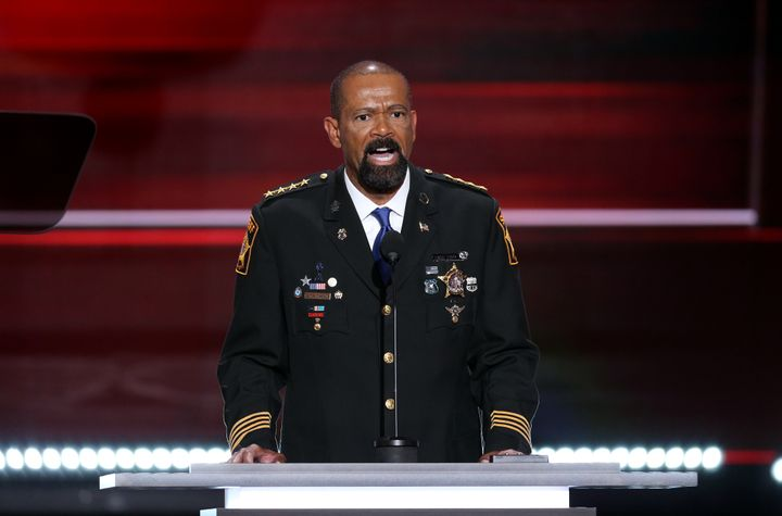 """Sheriff David Clarke Jr., said Black Lives Matter actions contribute to """"anarchy."""""""