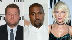 James Corden Hilariously Inserts Himself Into The Kim K, Kanye And Taylor Swift