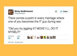 18 Tweets That Hilariously Capture The Experience Of Married Sex