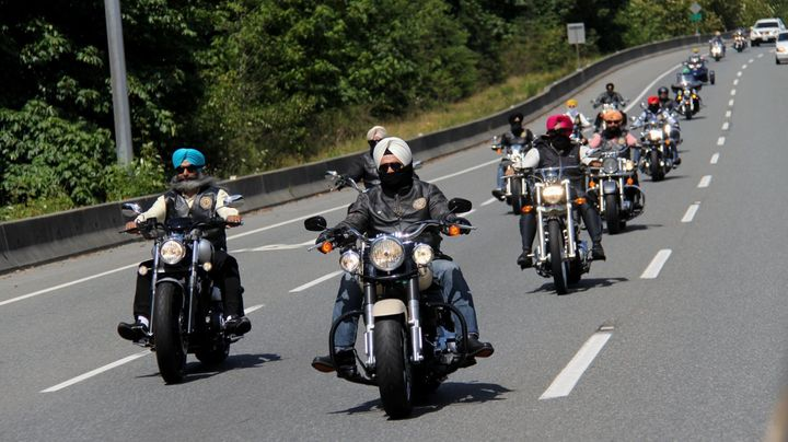Riders with the Sikh Motorcycle Club crossed 7,456 miles and raised $61,194 for the Canadian Cancer Society.