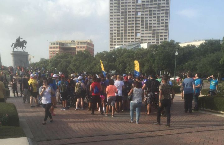 "A meetup for ""Pokemon Go"" players in Houston."