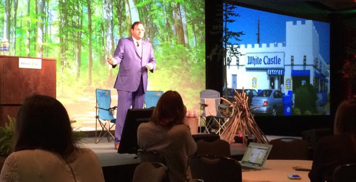 """<a href=""""http://www.twitter.com/jaybaer"""" target=""""_blank"""">@JayBaer</a> keynote at Advocamp 2016, hosted by <a href=""""http://www"""