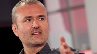 Nick Denton, founder of Gawker Media, speaks during the Interactive Advertising Bureau (IAB) MIXX 2010 conference and expo during Advertising Week in New York, U.S., on Monday, Sept. 27, 2010. The mobile advertising market may more than double in the U.S. to almost $500 million this year, researchers say. Photographer: Andrew Harrer/Bloomberg via Getty Images