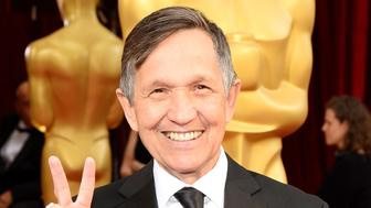 HOLLYWOOD, CA - MARCH 02:  Former U.S. Representative Dennis Kucinich attends the Oscars held at Hollywood & Highland Center on March 2, 2014 in Hollywood, California.  (Photo by Ethan Miller/WireImage)