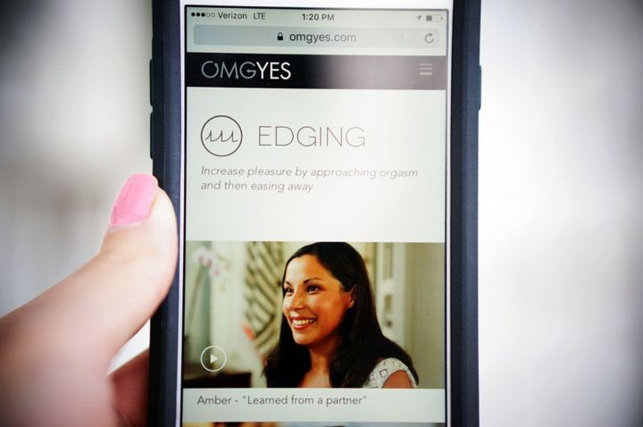 Women and men can use the OMGYes app to discover ways to enhance female pleasure