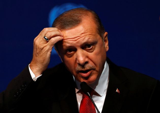 Turkish President Tayyip Erdogan says mutineers came close to killing or capturing him during the...
