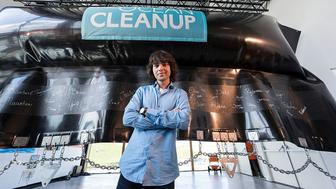 21-Year-Old Launches Ocean Clean Up Prototype