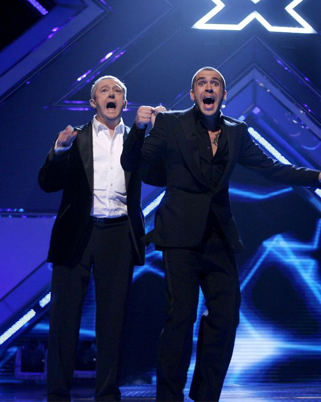 The moment Shayne Ward discovered he had won 'The X
