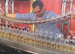 Watch This Bartender Pour 17 Jagerbombs At Once