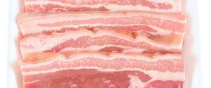 AIRLESS BACKGROUND BACON BEEF BLANK CLIPPING COLD