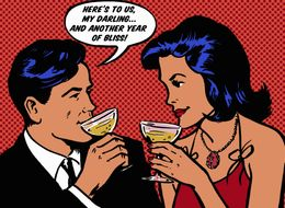 Do You And Your Spouse Both Drink? Why It Could Matter For Marital Bliss