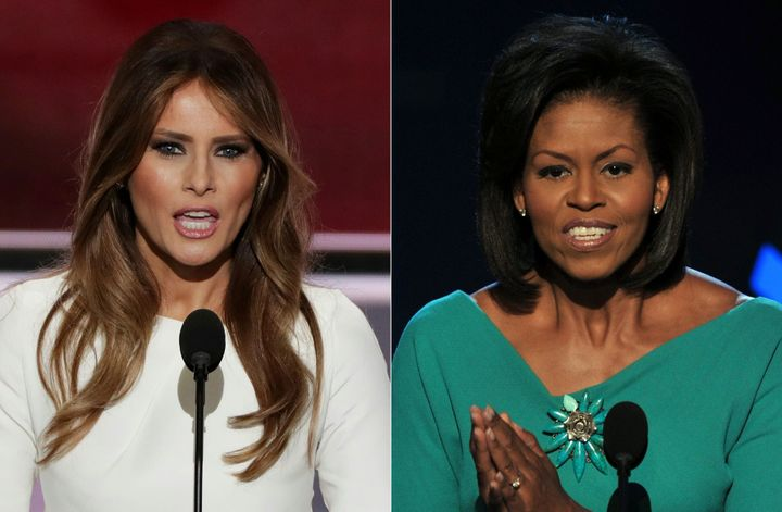A speechwriter for Melania Trump took responsibility Wednesday for cribbing lines from first lady Michelle Obama's