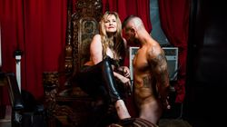 Unbelievable Photos Of A 60-Year-Old Dominatrix With A Client