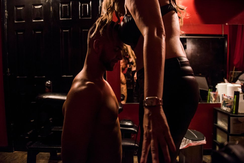 """Being a dominatrix isn't really about the look or the badass attitude at all: It's a power and sexual energy exchange,"