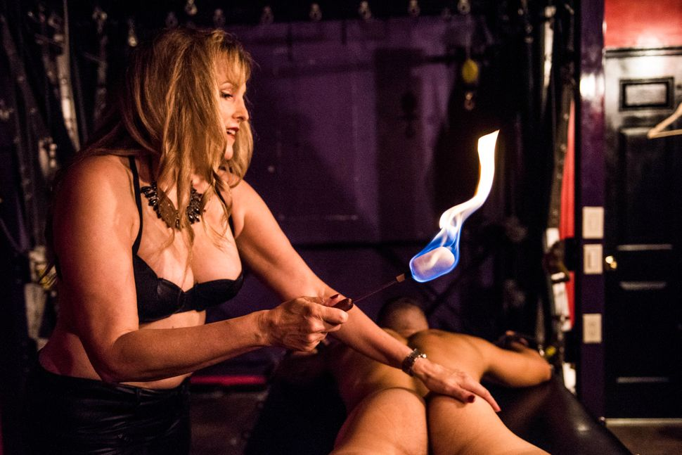 """It takes a lot of energy [to be a dominatrix] and if you are a true professional and you enjoy your work you are really in i"