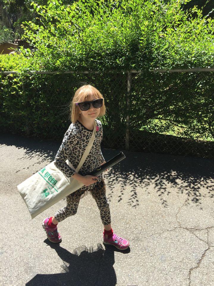 Matilda, who has impeccable fashion sense, too!