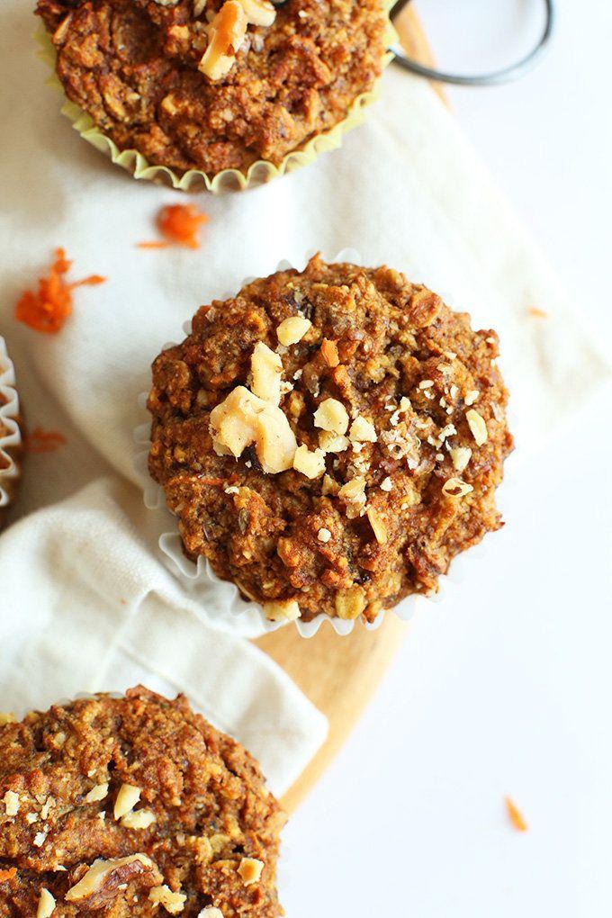 "<strong>Get the <a href=""http://minimalistbaker.com/one-bowl-carrot-apple-muffins-vegan-gf/"" target=""_blank"">Carrot Apple Muf"