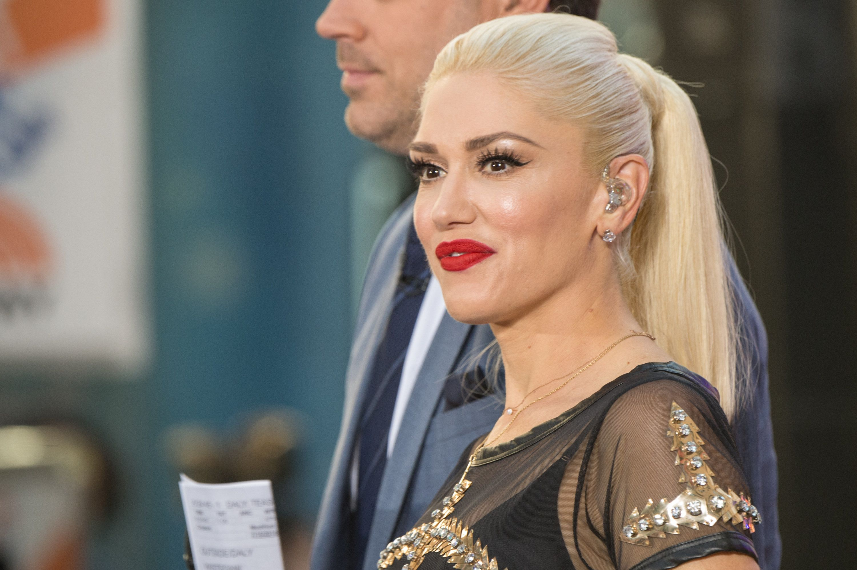 NEW YORK, NY - JULY 15:  Singer Gwen Stefani performs n NBC's 'Today' at Rockefeller Plaza on July 15, 2016 in New York City.  (Photo by Mark Sagliocco/FilmMagic)