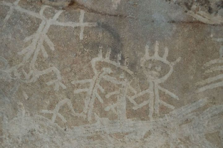 Exactly how old the indigenous drawings are is not yet clear though people have been on the island for 3,000-4,000 years.