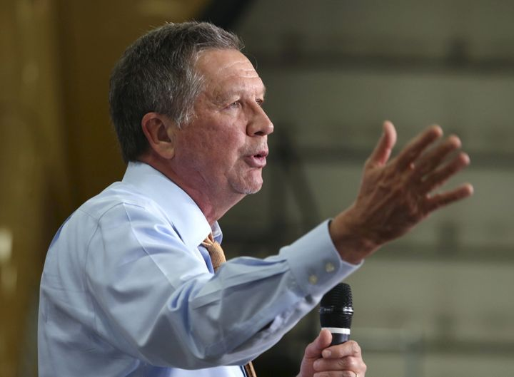 John Kasich made a passionate moral case for expanding Medicaid in Ohio.