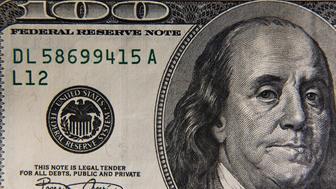 One hundred dollar bill