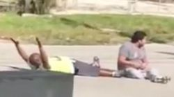 Unarmed Black Man Lying In The Street With Hands Up Gets Shot By Miami