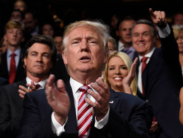 Donald Trump's Weirdest Facial Expressions From Last Night's Republican National