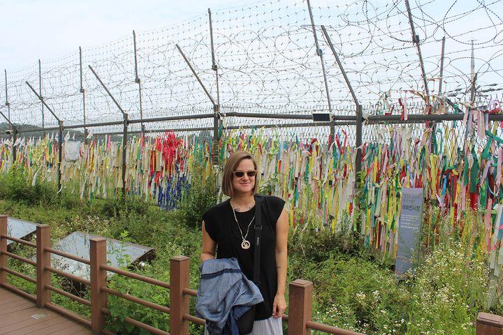 Exploring the North Korean border