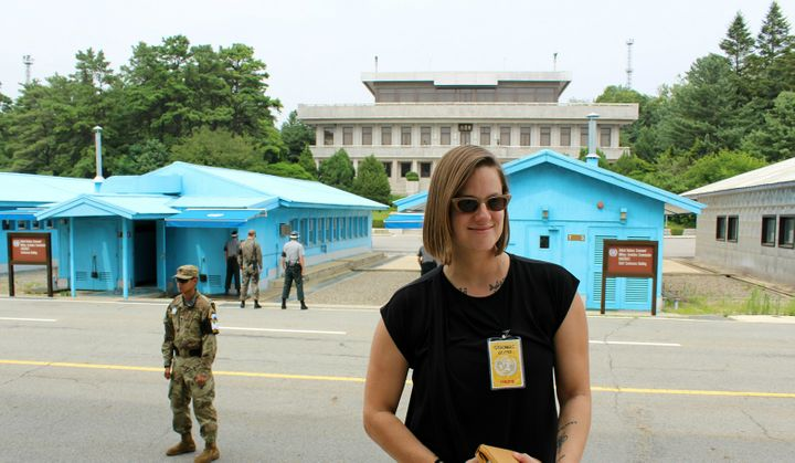Joint Security Area (JSA) on the front line