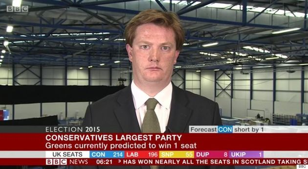 Danny Alexander channels the spirit of a thousand dead puppies after his election