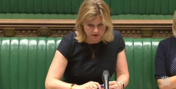 Greening said women should be able to wear what they
