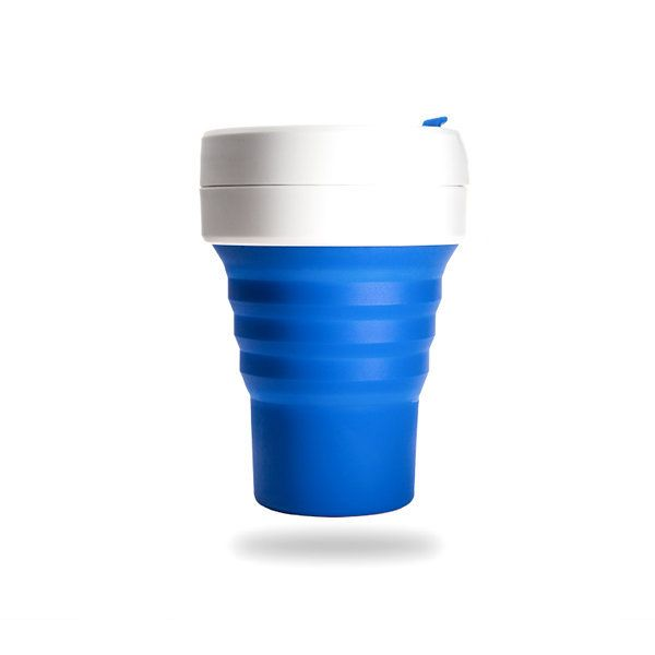 "<a href=""https://stojo.co/"" target=""_blank"">Stojo</a> minimizes&nbsp;the hassle of a travel cup by making it collapsible. Thi"