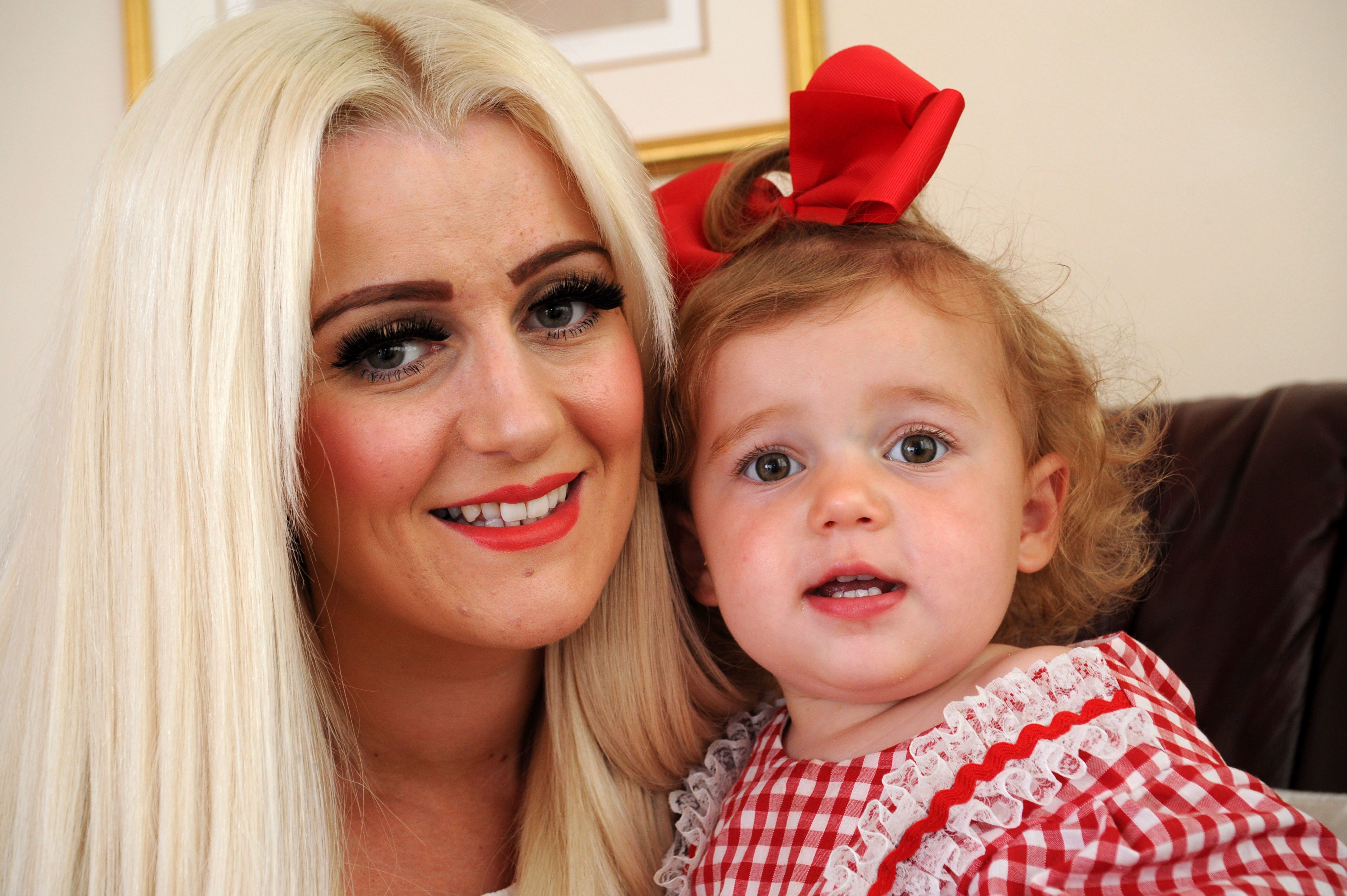 Leigh-Anne Challinor and her daughter
