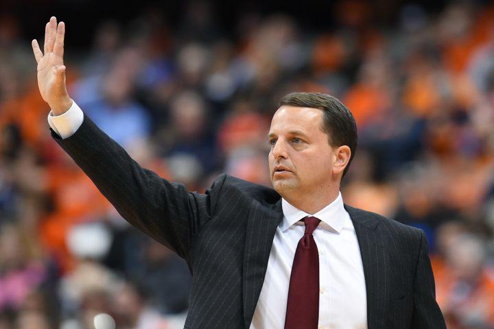 Head coach of theElon men's basketball teamMatt Matheny.