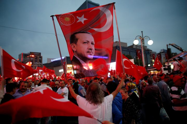 President Tayyip Erdogan has imposed the first nationwide state of emergency in Turkey since the 1980s on Wednesday.