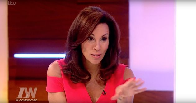 Andrea McLean attempts to get things back on