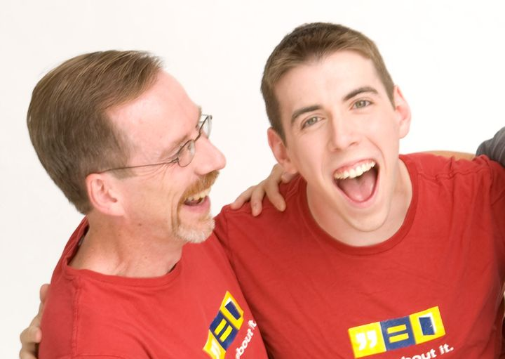 Ed Gaffney with his son, Jason T. Gaffney